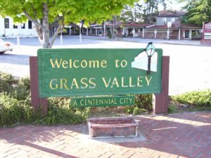 Welcome to Grass Valley Sign